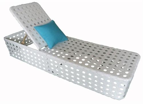 chaise, longue, de, transat, relax, jardin, fauteuil, piscine, en ...