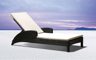chaise longue de piscine transat relax jardin fauteuil piscine en resine tressee. Black Bedroom Furniture Sets. Home Design Ideas