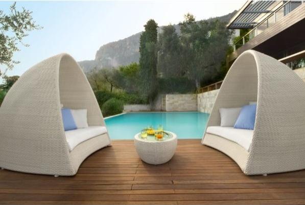 lit de jardin en rsine tresse fabricant casablanca - Lit De Jardin