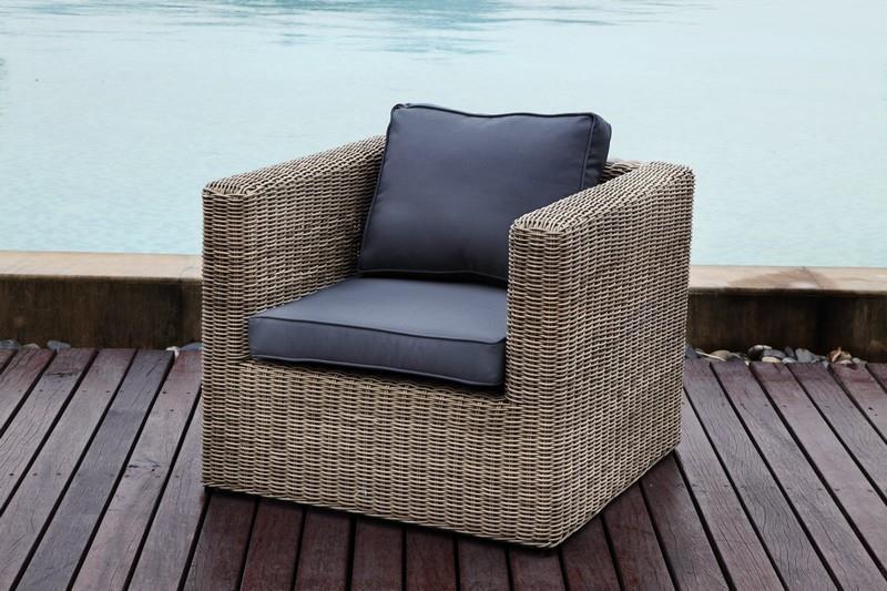 Salon canape fauteuil pot mobilier meubles de jardin en resine tressee maroc magasin - Fauteuil jardin rond ...